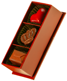 3 Piece Chocolate Box