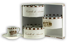 Castello Espresso Cup and Saucer - 6 pc. set