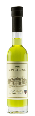 Grapeseed Oil - Basil Infused Image