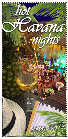 Hot Havana Nights Member Ticket, Friday July 26 2019
