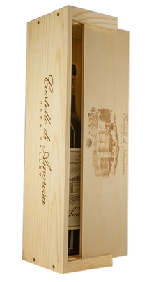 One Bottle Wooden Gift Box