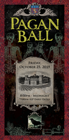 The Pagan Ball Guest Ticket, Friday Oct 25, 2019