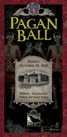 The Pagan Ball Member - Friday 10.30.20