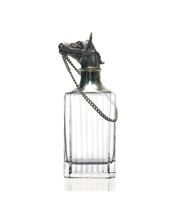 Decanter- Whiskey, w/ Animal Head