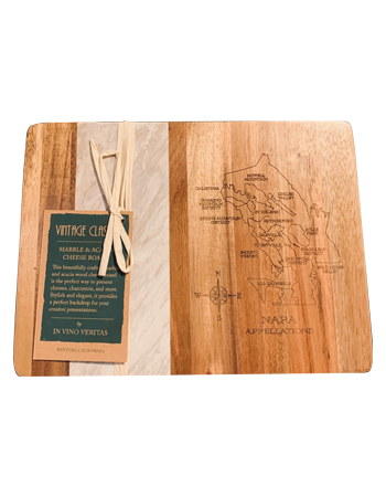 Cheese Board, Map