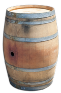 Retired Wine Barrel