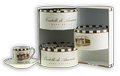 Castello Espresso Cup and Saucer - 6 pc. set Image