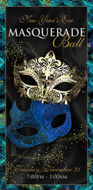 NYE Masquerade Guest Ticket - Tuesday 12.31.19